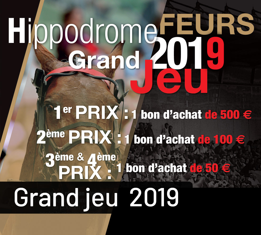 Gagnants du lundi 8 avril 2019